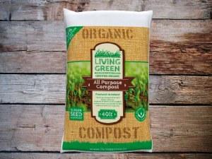 Living Green Organic Compost 40L
