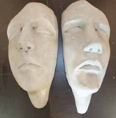 Left Face 30cm