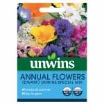 Annual Flowers (Dwarf) Unwins Special Mix