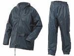 Ark Nylon Rain Suit Large Navy
