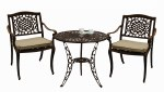 Borovale 2 Seater Set Bronze