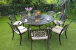 Borovale 8 Seater Bronze Set Round