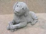 Labrador with Bone