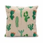 LG Cushion Cacti Emerald Green