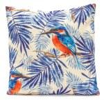 LG Cushion Kingfisher Blue