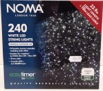240 LED String Lights - White