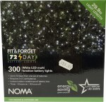 300 LED Fit & Forget Light Set - White
