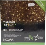 300 LED Fit & Forget Light Set - Warm White