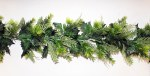180cm Decorated Mixed Pine Garland