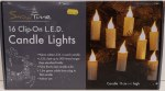 16 Clip-On LED Candle Lights