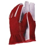 Town and Country Mens Premium Leather Red L