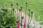 TomC Plant Stake Poppy Small