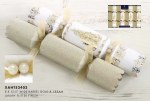 8 Luxury Gold and Cream Crackers