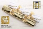 6 Luxury Gold and Cream Crackers