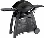 Weber Family Q3200 Black with Cart