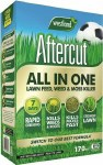 Aftercut All In One Lawn Feed, Weed and Moss Killer 170m²