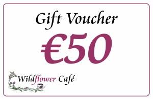 Wildflower Gift Voucher €50
