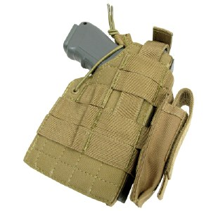 Holster - Brt AmbidW/Molle Tan