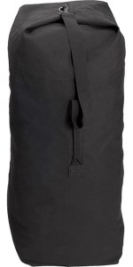 "Bag - Duffle Top Black 25""x42"""