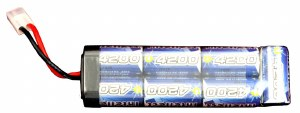 Battery - 8.4vt 4200mah Ni-Mh
