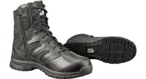 Boot - Force SideZip Blk  4 R