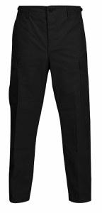 Pant - BDU Blk Blnd Zip  S/R
