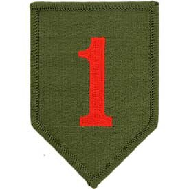 Ptch - ARMY,001ST INF.DIV.