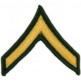 Ptch - ARMY,E2,PrivDresGrnPair