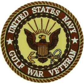 Ptch - GULF.WAR,VET,USN.DST