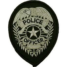 Ptch - POLICE.SHIELD(SLV/BLK)
