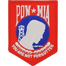 Ptch - POW*MIA (Red,Wht,Blue)