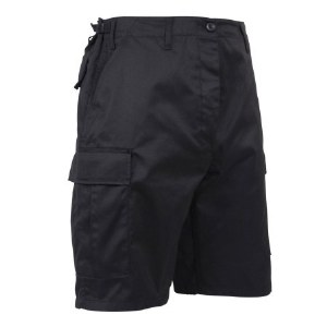 Short - BDU Blk PC  5X