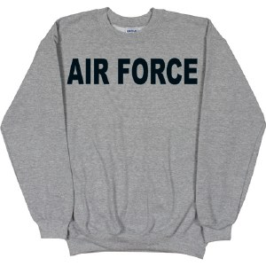 Sweatshirt - Air Force Crew Sm