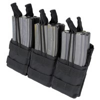 Pch - M4 Tri Stacker 6 Mag Blk