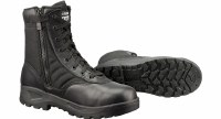 boot - blk side zip st  6 R