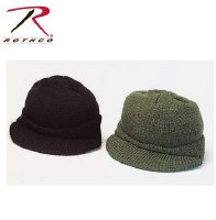 Cap - Jeep Wool Blk