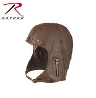 Cap - Snoopy Leather Brown M/L