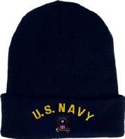 Cap - Watch Navy Embrd Blue