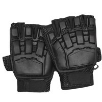 Glove - Armor 1/2Finger Blk SM