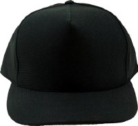 Hat - Plain Blk Adjustible