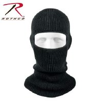 mask - blk knit 1hole