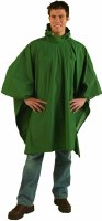 Poncho - Forest Green 80 x 56