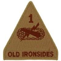 Ptch - ARMY,001ST ARM.DIV