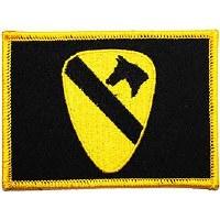 Ptch - ARMY,001ST,CAV.FLAG