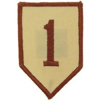 Ptch - ARMY,001ST.INF.DIV.DST