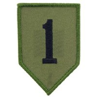 Ptch - ARMY,001ST.INF.DIV SUBD