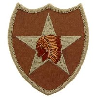 Ptch - ARMY,002ND.INF.DIV.DST