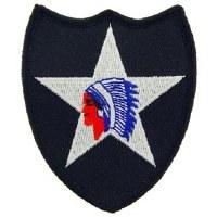 Ptch - ARMY,002ND INF DIV