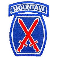 Ptch - ARMY,010TH.MTN.DIV.Subd