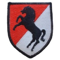 Ptch - ARMY,011TH CAV DIV